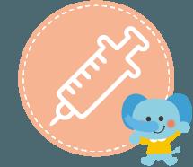 予防接種 スマイルこどもクリニック 門真市 小児科 小児アレルギー疾患 大和田駅徒歩1分